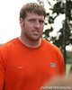 photo by Tim Casey<br /> <br /> UF sophomore offensive lineman Kyle Newell leaves the field after the Gators practiced on Sunday, December 30, 2007 at Disney's Wide World of Sports Complex in Lake Buena Vista, Fla.