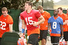 photo by Tim Casey<br /> <br /> UF sophomore quarterback Tim Tebow leaves the field after the Gators practiced on Sunday, December 30, 2007 at Disney's Wide World of Sports Complex in Lake Buena Vista, Fla.