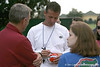photo by Tim Casey<br /> <br /> UF head coach Urban Meyer signs a miniature helmet after the Gators practiced on Sunday, December 30, 2007 at Disney's Wide World of Sports Complex in Lake Buena Vista, Fla.