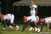 080804_HunterOmar_1725_TCasey<br /> <br /> photo by Tim Casey<br /> <br /> during the Florida Gators' first day of fall football practice on Monday, August 4, 2008 at the Sanders football practice fields in Gainesville, Fla. Only freshman participated in the morning session.