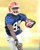 080804_HammondJrFrankie_2000_TCasey<br /> <br /> photo by Tim Casey<br /> <br /> during the Florida Gators' first day of fall football practice on Monday, August 4, 2008 at the Sanders football practice fields in Gainesville, Fla. Only freshman participated in the morning session.