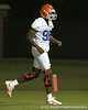 080804_GreenWilliam_1756_TCasey<br /> <br /> photo by Tim Casey<br /> <br /> during the Florida Gators' first day of fall football practice on Monday, August 4, 2008 at the Sanders football practice fields in Gainesville, Fla. Only freshman participated in the morning session.