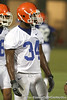 080804_McCrayLerentee_1795_TCasey<br /> <br /> photo by Tim Casey<br /> <br /> during the Florida Gators' first day of fall football practice on Monday, August 4, 2008 at the Sanders football practice fields in Gainesville, Fla. Only freshman participated in the morning session.