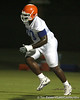 080804_WilsonRonnie_1727_TCasey<br /> <br /> photo by Tim Casey<br /> <br /> during the Florida Gators' first day of fall football practice on Monday, August 4, 2008 at the Sanders football practice fields in Gainesville, Fla. Only freshman participated in the morning session.