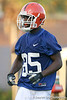 080804_HammondJrFrankie_1960_TCasey<br /> <br /> photo by Tim Casey<br /> <br /> during the Florida Gators' first day of fall football practice on Monday, August 4, 2008 at the Sanders football practice fields in Gainesville, Fla. Only freshman participated in the morning session.