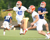 080804_HicksBrandon_2013_TCasey<br /> <br /> photo by Tim Casey<br /> <br /> during the Florida Gators' first day of fall football practice on Monday, August 4, 2008 at the Sanders football practice fields in Gainesville, Fla. Only freshman participated in the morning session.