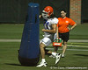 080804_PatchanMatt_1767_TCasey<br /> <br /> photo by Tim Casey<br /> <br /> during the Florida Gators' first day of fall football practice on Monday, August 4, 2008 at the Sanders football practice fields in Gainesville, Fla. Only freshman participated in the morning session.