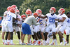 027_080804_defense_2280_TCasey<br /> <br /> photo by Tim Casey<br /> <br /> during the Florida Gators' first day of fall football practice on Monday, August 4, 2008 at the Sanders football practice fields in Gainesville, Fla.
