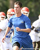023_080804_runner_2267_TCasey<br /> <br /> photo by Tim Casey<br /> <br /> during the Florida Gators' first day of fall football practice on Monday, August 4, 2008 at the Sanders football practice fields in Gainesville, Fla.