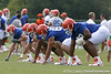011_080804_BarrieJim_2217_TCasey<br /> <br /> photo by Tim Casey<br /> <br /> during the Florida Gators' first day of fall football practice on Monday, August 4, 2008 at the Sanders football practice fields in Gainesville, Fla.