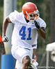 028_080804_StamperRyan_2282_TCasey<br /> <br /> photo by Tim Casey<br /> <br /> during the Florida Gators' first day of fall football practice on Monday, August 4, 2008 at the Sanders football practice fields in Gainesville, Fla.