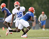 077_080804_JonesAJThompsonDeonte_2414_TCasey<br /> <br /> photo by Tim Casey<br /> <br /> during the Florida Gators' first day of fall football practice on Monday, August 4, 2008 at the Sanders football practice fields in Gainesville, Fla.