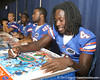 080817_PierreLouisWondy_5194_TCasey<br /> <br /> photo by Tim Casey<br /> <br /> during the University of Florida football team's Alltel Football Fan Day on Sunday, August 17, 2008 at the Stephen C. O'Connell Center in Gainesville, Fla.