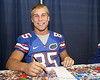 080817_FritzeAndrew_5221_TCasey<br /> <br /> photo by Tim Casey<br /> <br /> during the University of Florida football team's Alltel Football Fan Day on Sunday, August 17, 2008 at the Stephen C. O'Connell Center in Gainesville, Fla.