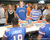 080817_UFfans_5120_TCasey<br /> <br /> photo by Tim Casey<br /> <br /> during the University of Florida football team's Alltel Football Fan Day on Sunday, August 17, 2008 at the Stephen C. O'Connell Center in Gainesville, Fla.