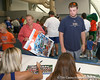 080817_FosterTeddy_5299_TCasey<br /> <br /> photo by Tim Casey<br /> <br /> during the University of Florida football team's Alltel Football Fan Day on Sunday, August 17, 2008 at the Stephen C. O'Connell Center in Gainesville, Fla.
