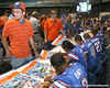 080817_UFfans_5140_TCasey<br /> <br /> photo by Tim Casey<br /> <br /> during the University of Florida football team's Alltel Football Fan Day on Sunday, August 17, 2008 at the Stephen C. O'Connell Center in Gainesville, Fla.
