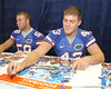 080817_SmithJames_5238_TCasey<br /> <br /> photo by Tim Casey<br /> <br /> during the University of Florida football team's Alltel Football Fan Day on Sunday, August 17, 2008 at the Stephen C. O'Connell Center in Gainesville, Fla.