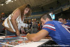080817_TebowTim_5102_TCasey<br /> <br /> photo by Tim Casey<br /> <br /> during the University of Florida football team's Alltel Football Fan Day on Sunday, August 17, 2008 at the Stephen C. O'Connell Center in Gainesville, Fla.