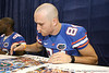 080817_CaseyTate_5241_TCasey<br /> <br /> photo by Tim Casey<br /> <br /> during the University of Florida football team's Alltel Football Fan Day on Sunday, August 17, 2008 at the Stephen C. O'Connell Center in Gainesville, Fla.