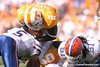 photo by Tim Casey<br /> <br /> Florida sophomore defensive back Joe Haden tackles Montario Hardesty during the first half of the Gators' game against the Tennessee Volunteers on Saturday, September 20, 2008 at Neyland Stadium in Knoxville, Tenn.