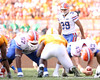 photo by Tim Casey<br /> <br /> Florida senior kicker Jonathan Phillips lines up to kick a 40-yard field goal during the first half of the Gators' game against the Tennessee Volunteers on Saturday, September 20, 2008 at Neyland Stadium in Knoxville, Tenn.