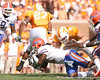 photo by Tim Casey<br /> <br /> Florida junior linebacker Brandon Spikes tackles Arian Foster during the first half of the Gators' game against the Tennessee Volunteers on Saturday, September 20, 2008 at Neyland Stadium in Knoxville, Tenn.