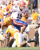 photo by Tim Casey<br /> <br /> Florida junior quarterback Tim Tebow runs during the first half of the Gators' game against the Tennessee Volunteers on Saturday, September 20, 2008 at Neyland Stadium in Knoxville, Tenn.