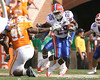 photo by Tim Casey<br /> <br /> Florida junior Brandon James returns a punt 78 yards for a touchdown during the first half of the Gators' game against the Tennessee Volunteers on Saturday, September 20, 2008 at Neyland Stadium in Knoxville, Tenn.