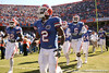 photo by Tim Casey<br /> <br /> Florida freshman Jeff Demps and Florida redshirt fresman Jaye Howard take the field before the Gators' 70-19 win against The Citadel Bulldogs on Saturday, November 22, 2008 at Ben Hill Griffin Stadium in Gainesville, Fla. UF led 49-6 at halftime.
