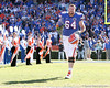 photo by Tim Casey<br /> <br /> Florida senior offensive lineman Kyle Newell participates in the Senior Day ceremony before the Gators' 70-19 win against The Citadel Bulldogs on Saturday, November 22, 2008 at Ben Hill Griffin Stadium in Gainesville, Fla. UF led 49-6 at halftime.