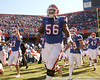 photo by Tim Casey<br /> <br /> Florida sophomore offensive lineman Maurkice Pouncey takes the field before the Gators' 70-19 win against The Citadel Bulldogs on Saturday, November 22, 2008 at Ben Hill Griffin Stadium in Gainesville, Fla. UF led 49-6 at halftime.