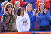 photo by Tim Casey<br /> <br /> Florida fans cheer from the stands before the Gators' 70-19 win against The Citadel Bulldogs on Saturday, November 22, 2008 at Ben Hill Griffin Stadium in Gainesville, Fla. UF led 49-6 at halftime.