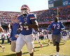 photo by Tim Casey<br /> <br /> Florida redshirt junior linebacker Roderick Blackett and Florida freshman Byran Jones take the field before the Gators' 70-19 win against The Citadel Bulldogs on Saturday, November 22, 2008 at Ben Hill Griffin Stadium in Gainesville, Fla. UF led 49-6 at halftime.