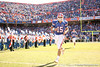 photo by Tim Casey<br /> <br /> Florida junior quarterback Tim Tebow takes the field before the Gators' 70-19 win against The Citadel Bulldogs on Saturday, November 22, 2008 at Ben Hill Griffin Stadium in Gainesville, Fla. UF led 49-6 at halftime.