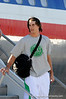(Casey Brooke Lawson / Gator Country) Riley Cooper and the University of Florida football team returns from Miami, after winning the 2008 BCS National Championship, to the Gainesville Regional Airport in Gainesville, Fla., on January 9, 2009.