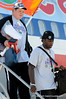 (Casey Brooke Lawson / Gator Country) William Steinmann, Omarius Hines and the University of Florida football team returns from Miami, after winning the 2008 National College Football Championship, to the Gainesville Regional Airport in Gainesville, Fla., on January 9, 2009.