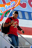 (Casey Brooke Lawson / Gator Country) The University of Florida football team returns from Miami, after winning the 2008 BCS National Championship, to the Gainesville Regional Airport in Gainesville, Fla., on January 9, 2009.