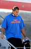 (Casey Brooke Lawson / Gator Country) Justin Trattou and the University of Florida football team returns from Miami, after winning the 2008 BCS National Championship, to the Gainesville Regional Airport in Gainesville, Fla., on January 9, 2009.