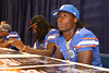 Florida sophomore cornerback Janoris Jenkins signs autographs during the Gators' annual preseason fan day on Sunday, August 16, 2009 at the Stephen C. O'Connell Center in Gainesville, Fla. / Gator Country photo by Tim Casey