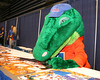 Albert signs autographs during the Gators' annual preseason fan day on Sunday, August 16, 2009 at the Stephen C. O'Connell Center in Gainesville, Fla. / Gator Country photo by Tim Casey