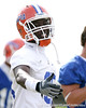 photo by Tim Casey<br /> <br /> Ahmad Black works out during the Gators' first day of spring football practice on Wednesday, March 25, 2009 at the Sanders football practice fields in Gainesville, Fla.