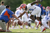 photo by Tim Casey<br /> <br /> Will Hill works out during the Gators' first day of spring football practice on Wednesday, March 25, 2009 at the Sanders football practice fields in Gainesville, Fla.