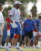photo by Tim Casey<br /> <br /> Vance Bedford looks on during the Gators' first day of spring football practice on Wednesday, March 25, 2009 at the Sanders football practice fields in Gainesville, Fla.