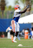 Dee Finley works out as the University of Florida football team holds their third Spring practice on Saturday, March 28, 2009 in Gainesville, Fla. / Gator Country photo by Staff