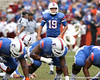 Florida sophomore kicker Caleb Sturgis warms up before the Gators' 37-10 win against Florida State on Saturday, November 28, 2009 at Ben Hill Griffin Stadium in Gainesville, Fla. / Gator Country photo by Tim Casey