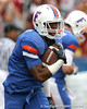 Florida freshman running back Mike Gillislee warms up before the Gators' 37-10 win against Florida State on Saturday, November 28, 2009 at Ben Hill Griffin Stadium in Gainesville, Fla. / Gator Country photo by Tim Casey
