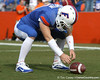 Florida freshman Cody Hampton warms up before the Gators' 37-10 win against Florida State on Saturday, November 28, 2009 at Ben Hill Griffin Stadium in Gainesville, Fla. / Gator Country photo by Tim Casey