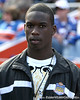 Valdosta Lowndes senior linebacker Telvin Smith watches before the Gators' 37-10 win against Florida State on Saturday, November 28, 2009 at Ben Hill Griffin Stadium in Gainesville, Fla. / Gator Country photo by Tim Casey