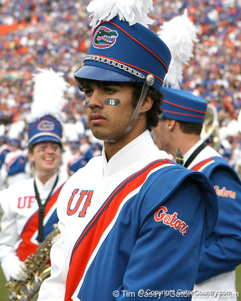 Florida's marching band performs before the Gators' 37-10 win against Florida State on Saturday, November 28, 2009 at Ben Hill Griffin Stadium in Gainesville, Fla. / Gator Country photo by Tim Casey